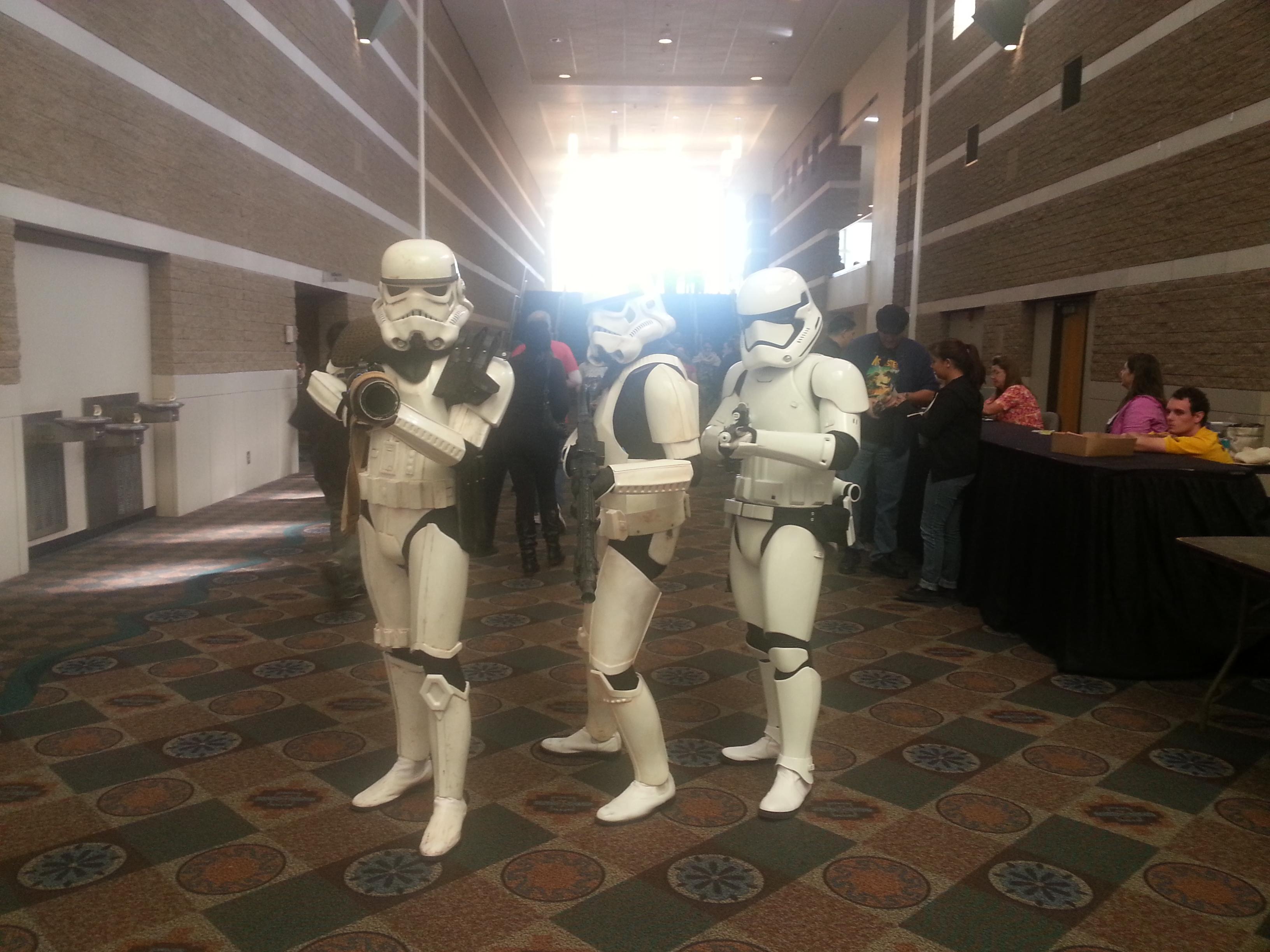 Stormtrooper Trio