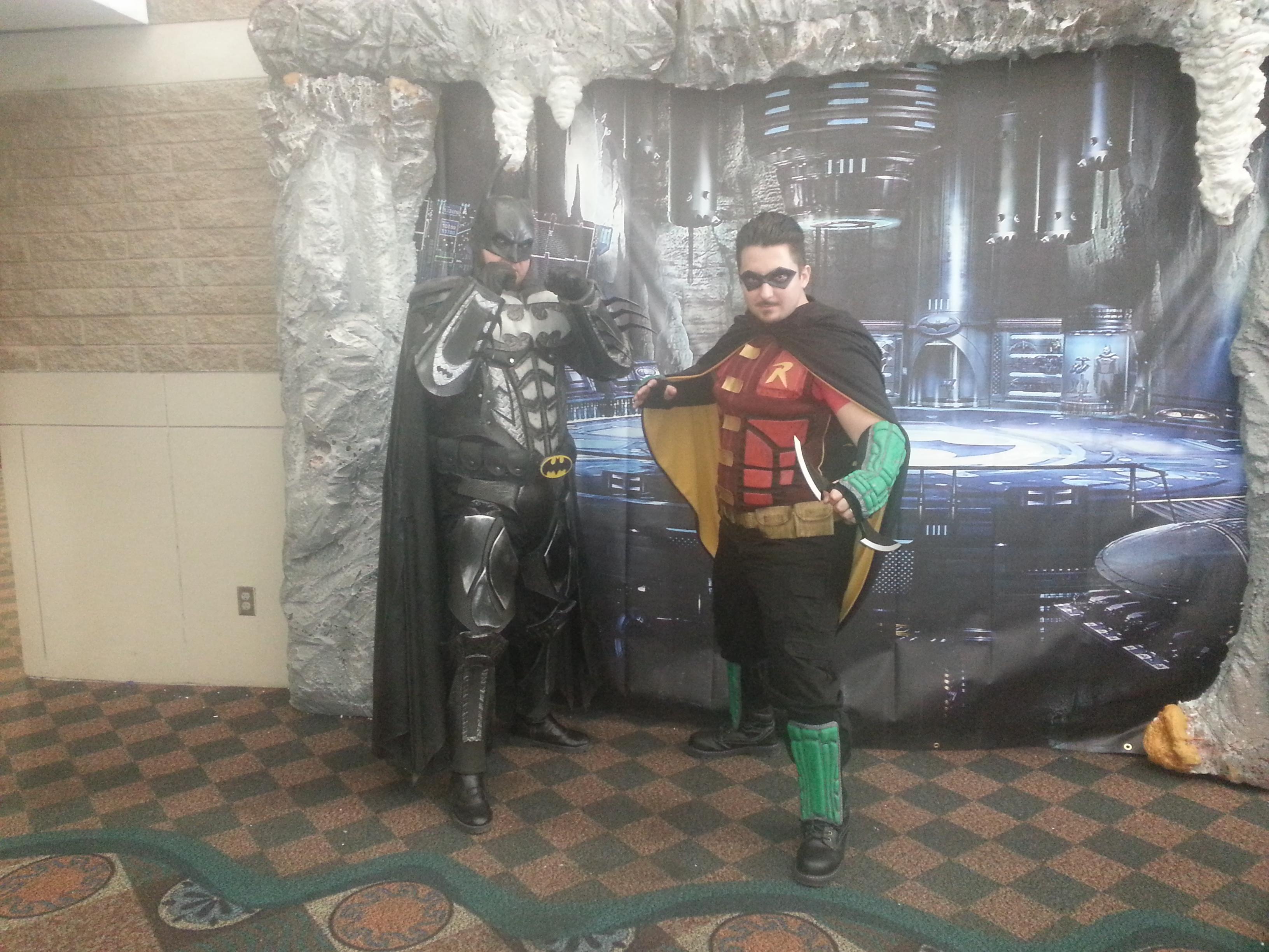 Nice Batman & Robin collaboration!